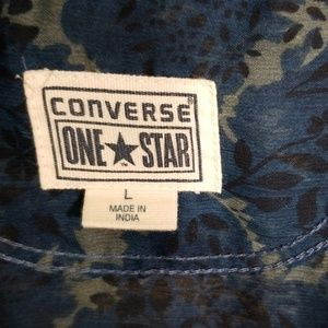 Converse Tops - Converse one star blouse